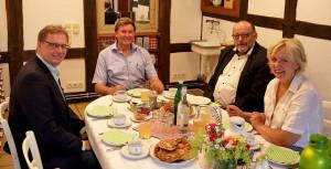 Pickert und Politik in Lippe – Jürgen Berghahn zu Besuch bei Annette Diekmann